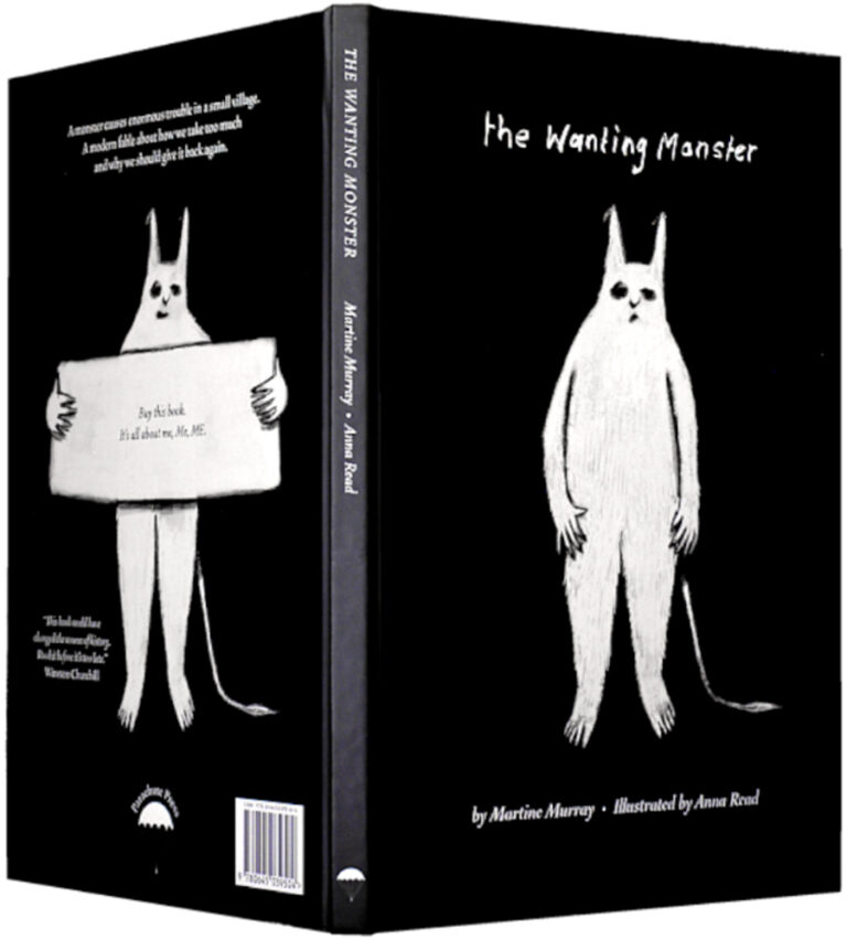 The Wanting Monster Book Cover
